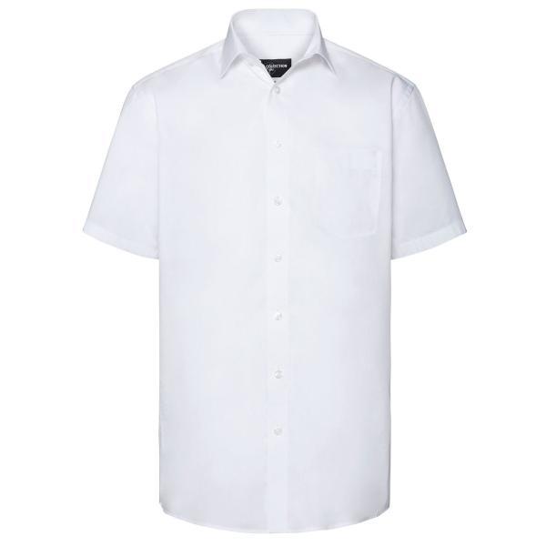 Tailliertes Coolmax® Hemd – Kurzarm