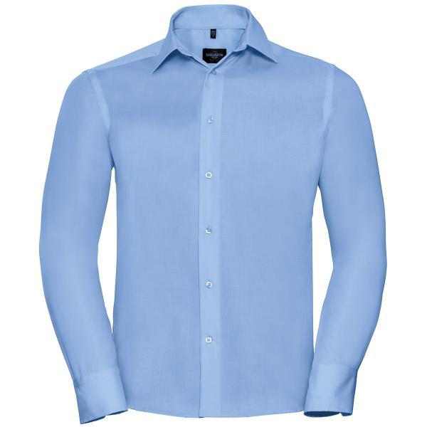 Klassisches bügelfreies Hemd – Langarm