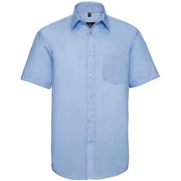 Klassisches bügelfreies Hemd – Kurzarm