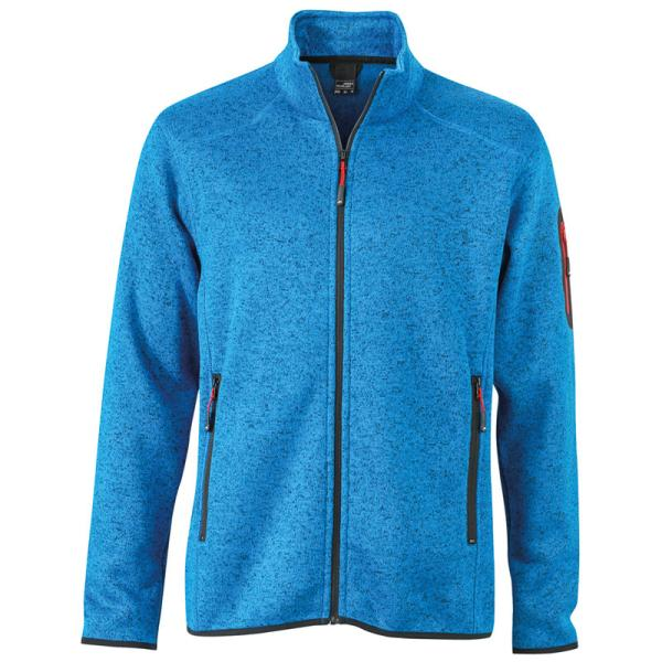 Men´s Knitted Fleece Jacket