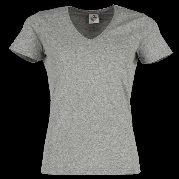 Classic V-Neck T-Shirt Women