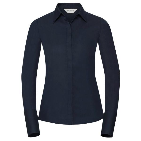 Ultimate Stretch Bluse – Langarm