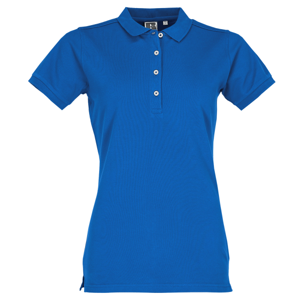 Körperbetontes Damen Stretch-Polo