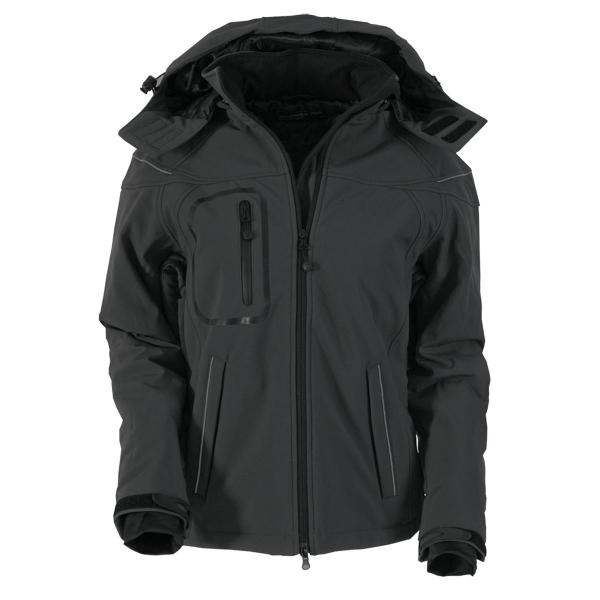 Ladies Winter Softshell Jacke