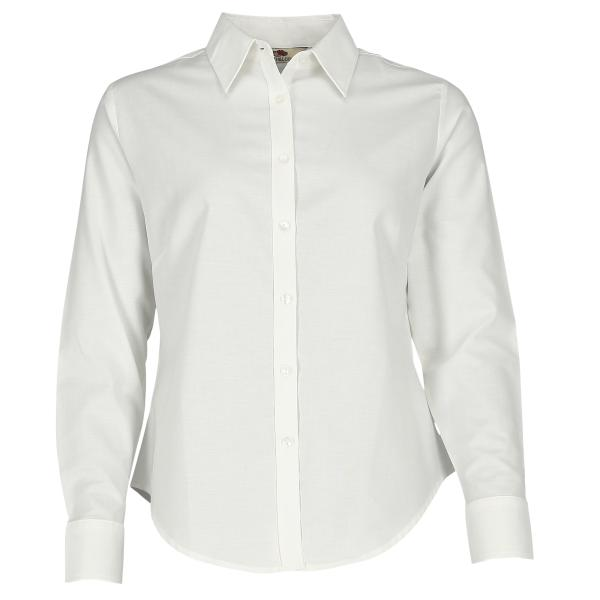 Long Sleeve Oxford Shirt Lady-Fit