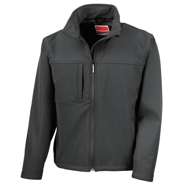 Klassische Softshell Jacke