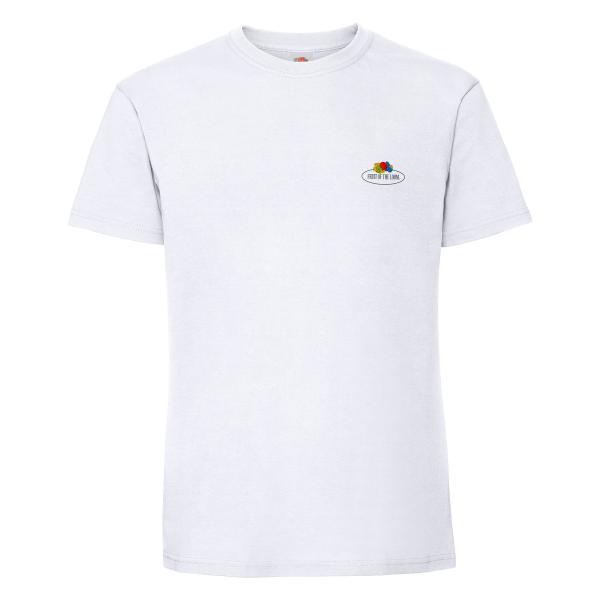 Fruit of the Loom Ringspun Premium T-Shirt mit kleinem Vintage-Logo
