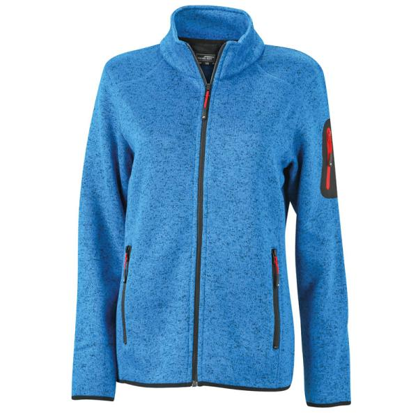 Ladies´ Knitted Fleece Jacket