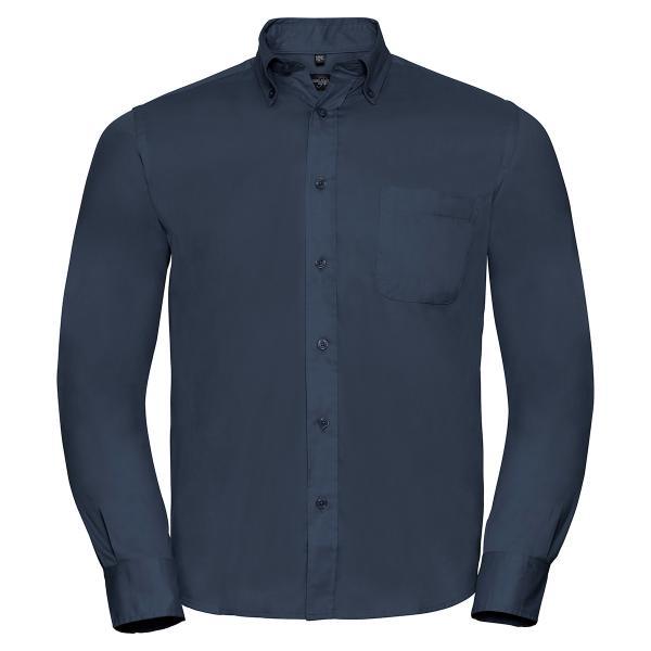 Klassisches Twill Hemd – Langarm