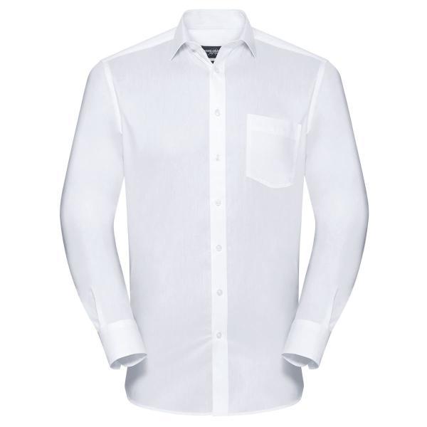 Tailliertes Coolmax® Hemd - Langarm