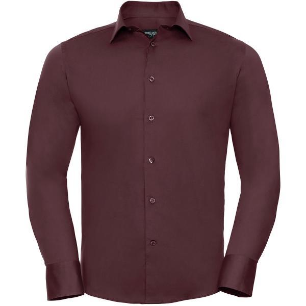 Körperbetontes Stretch Hemd – Langarm
