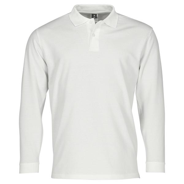 Adults' Long Sleeve Classic Cotton Polo