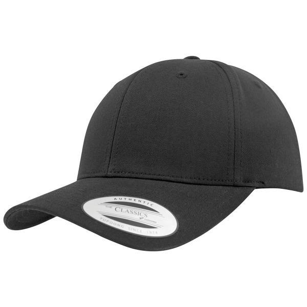 Curved Classic Snapback Cap